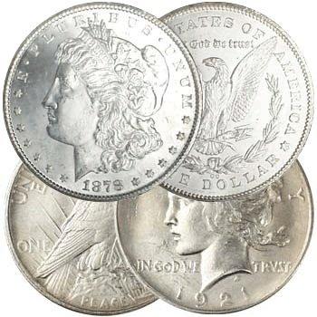 1922 P BU Peace Dollar