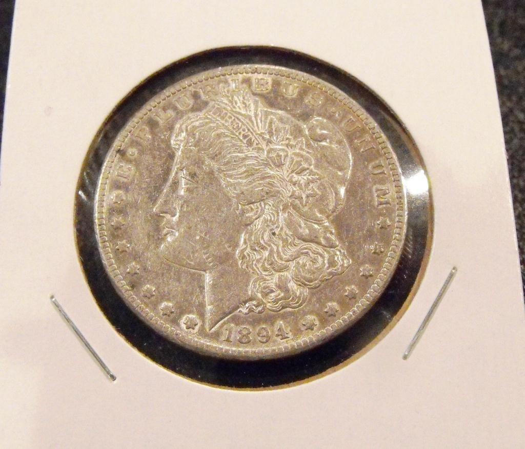 1894 s KEY DATE Morgan Dollar