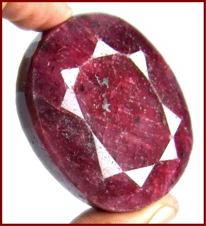 360 ct. Large Red Ruby Corrundum Gem