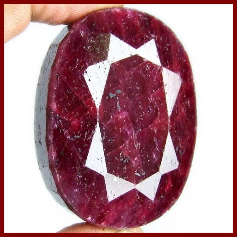 480 ct. Large Ruby Red Corrundum Gemstone