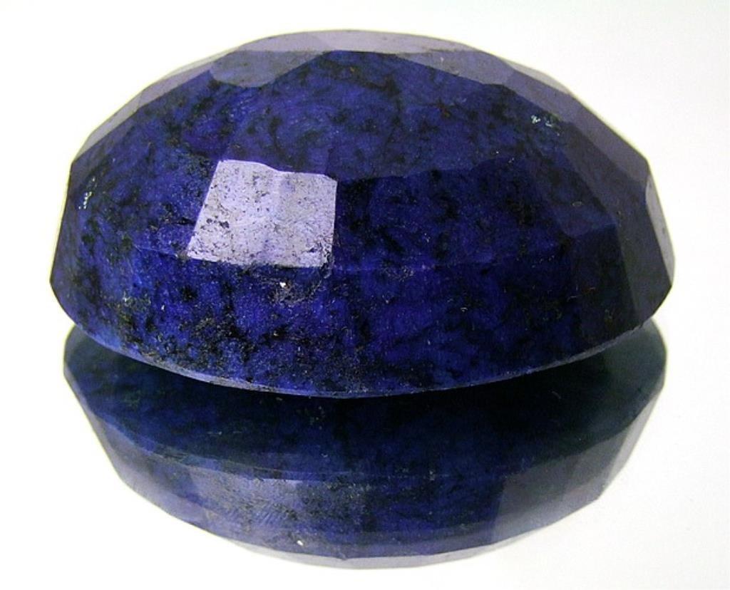 HUGE 875 ct. Sapphire Blue Corrundum Gem