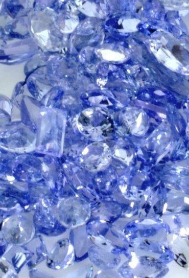 Lot of  30 TCW. Natural Tanzanite Gemstones