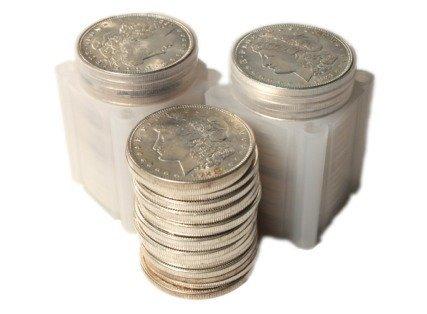 Lot of (60) AU Grade Morgan Silver Dollars