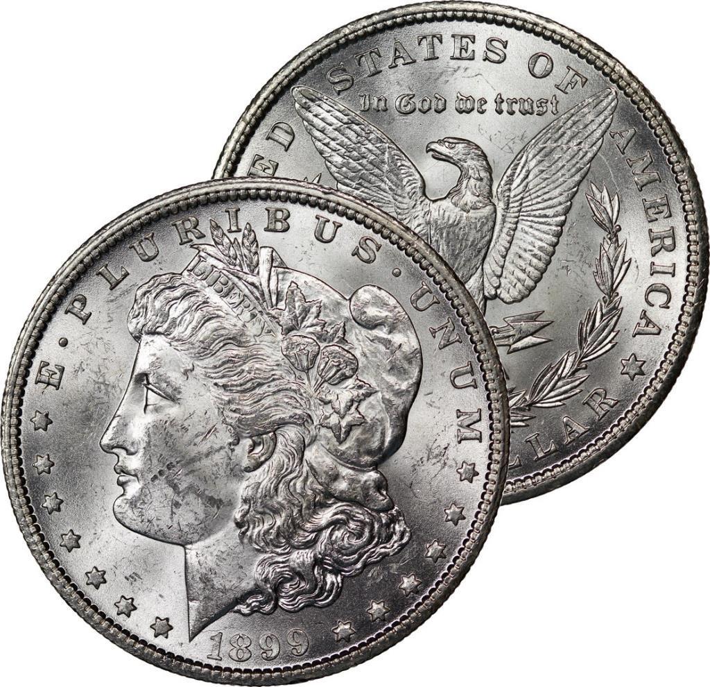1899 O BU Morgan Silver Dollar