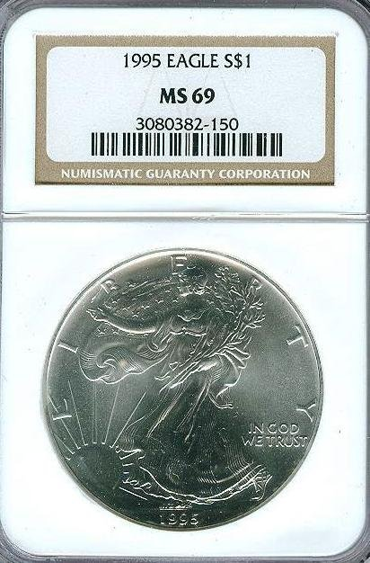 1995 Lower Mintage MS 69 NGC ASE