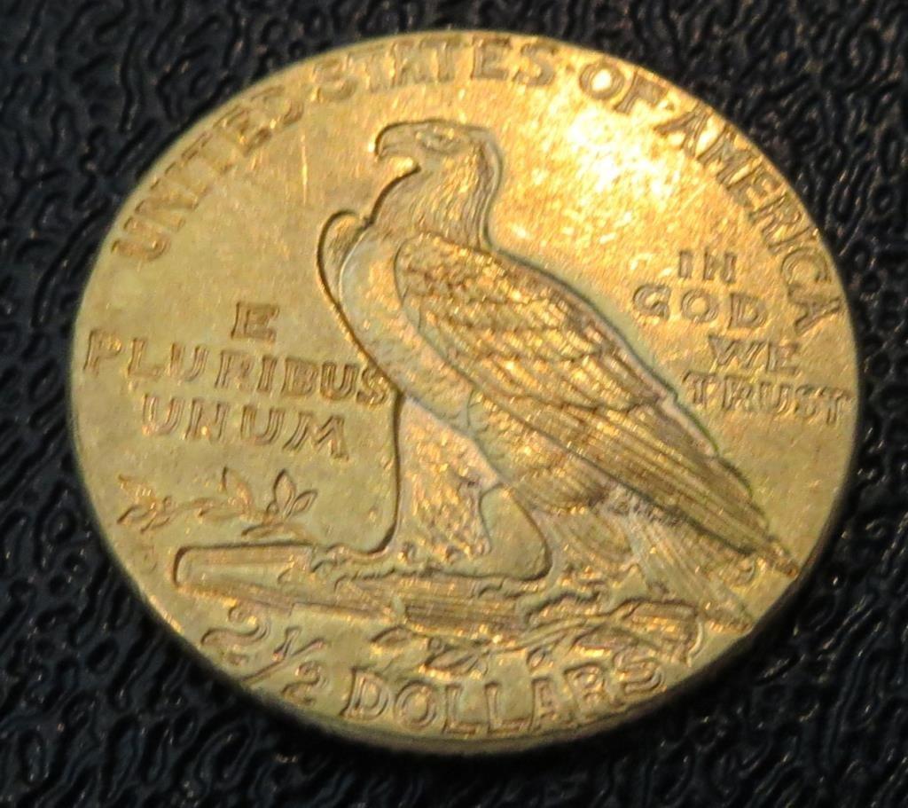 1925 P $ 2.5 Gold Indian - 2