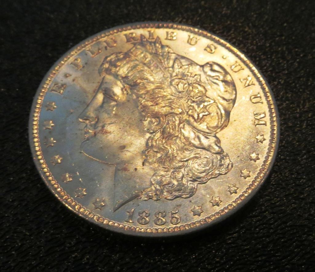 1885 o UNC Morgan Dollar - Original