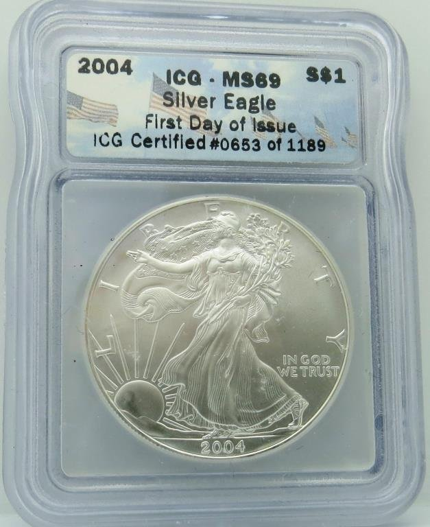 2004 MS 69 ICG ASE