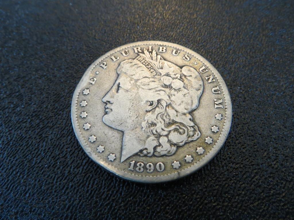 1890 Carson City Key Date Morgan Dolla