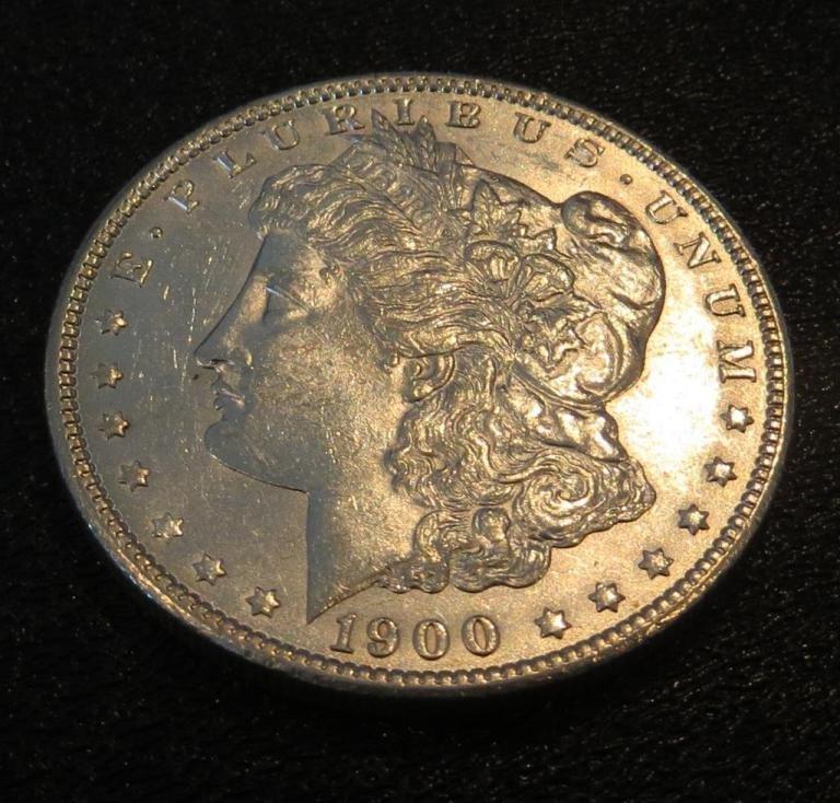 1900 p UNC Morgan Dollar