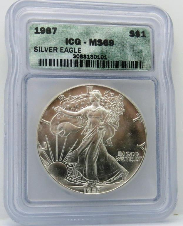 1987 ICG MS 69 ASE