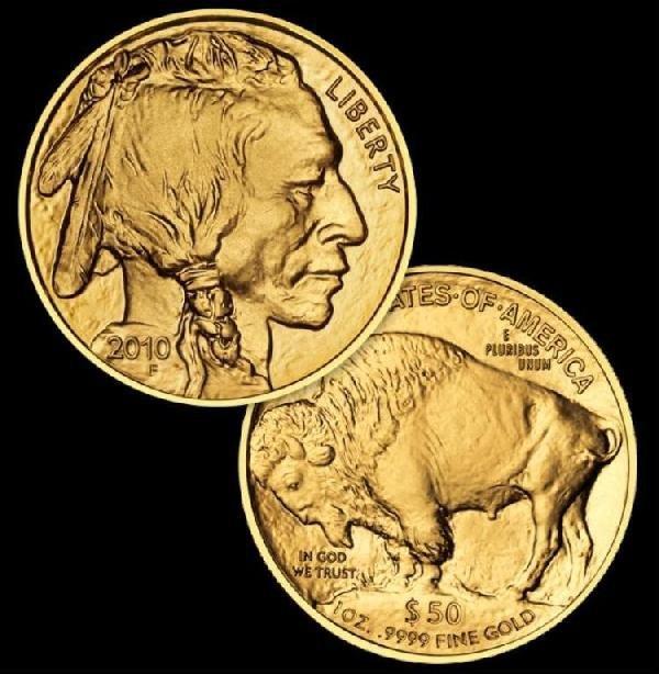 24k Gold Buffalo Bullion Coin