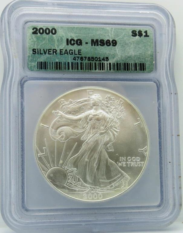 2000 MS 69 ICG ASE