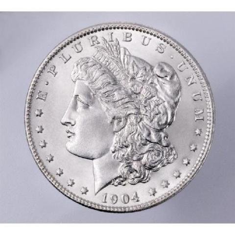 1904 O BU Morgan Dollar