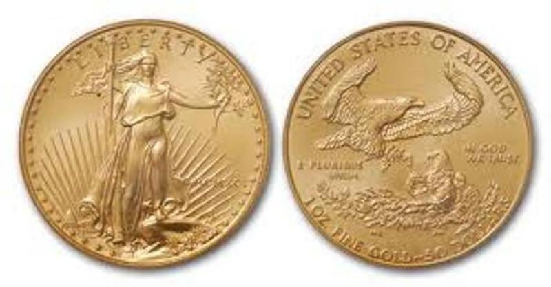 1 oz Gold Eagle Bullion - Random Date