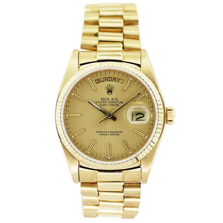Rolex Presidential Day Date Single Quick Set