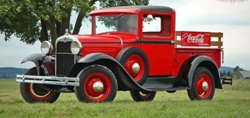 1931 Ford Model A Pickup Coca Cola Decor