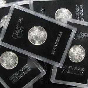 1882-CC, 1883-CC & 1884-CC Morgan dollars
