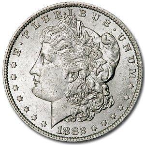 1882-O Mint State Morgan Silver Dollar