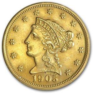 $2.5 Liberty Indian Gold Random Date