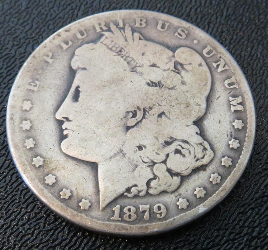 1879 CC key Date Morgan Dollar