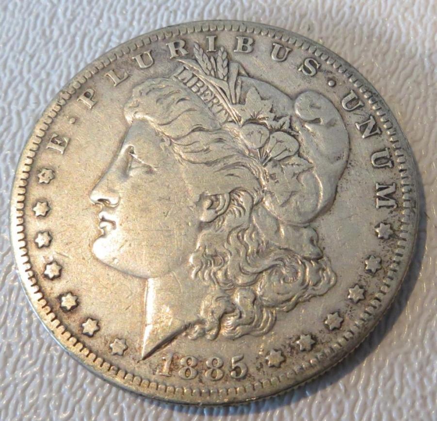 1885 s Key Date Morgan Dollar