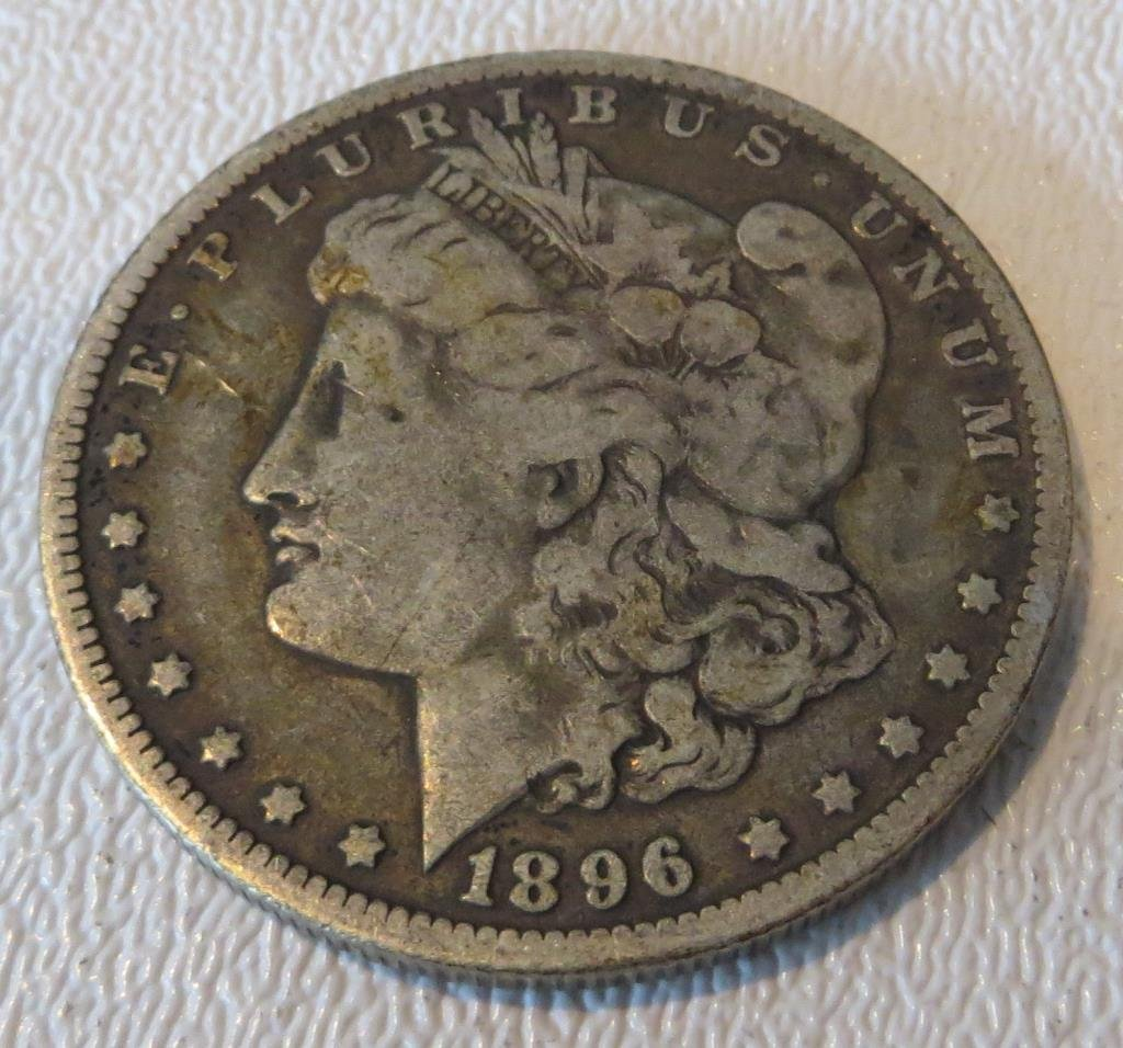 1896 o Key Date Morgan Dolar