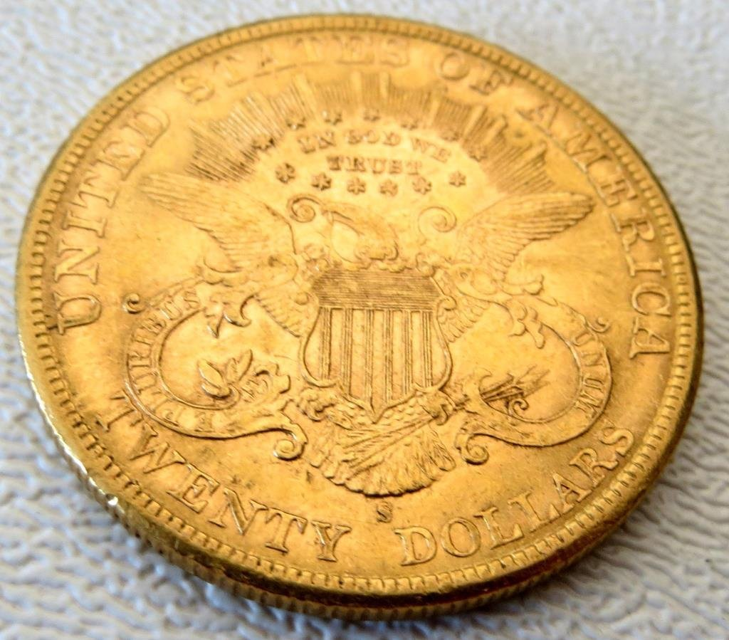1897 S UNC $ 20 Liberty Gold Coin