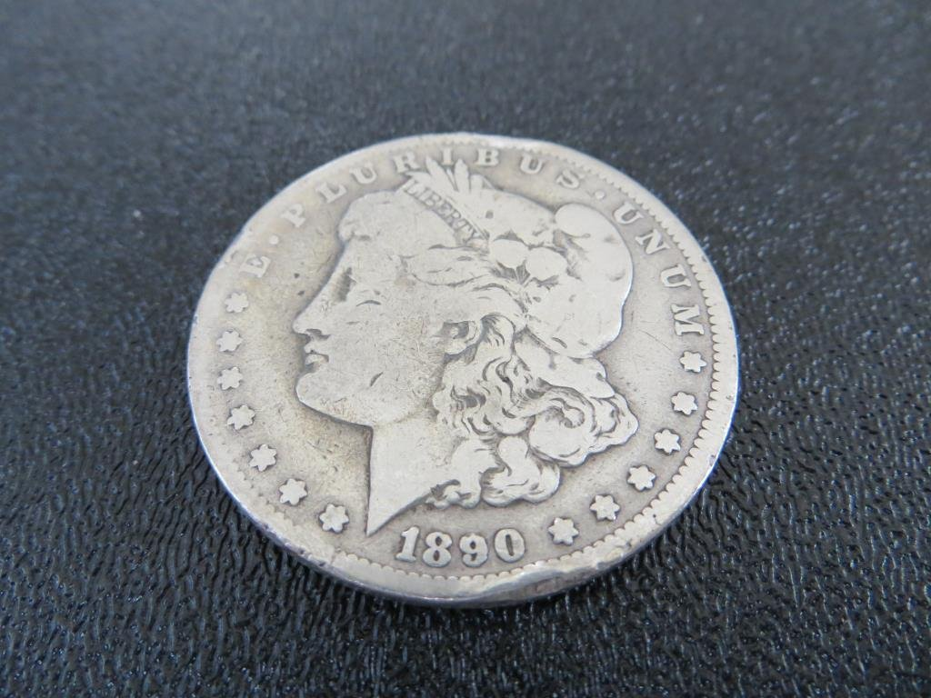 1890 CC KEY DATE MORGAN DOLLAR