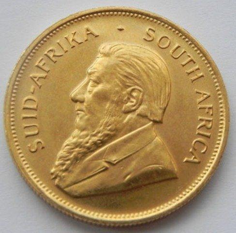 A 1oz. Gold Krugerrand Bullion