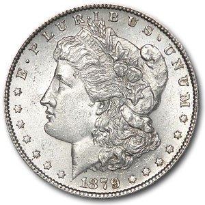 1879 - S Mint State Morgan Silver Dollar