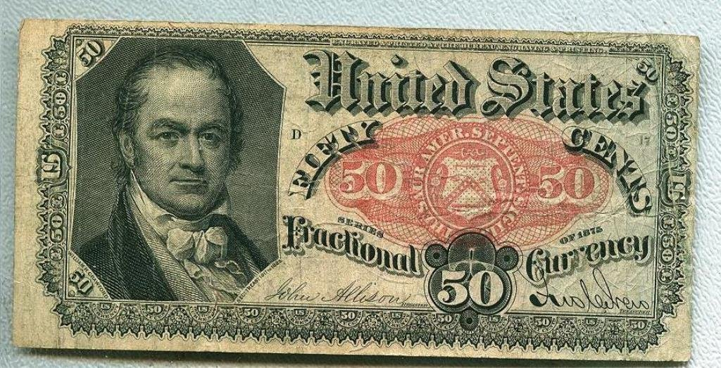 1878 50 cent Fractional Currency - Postal $