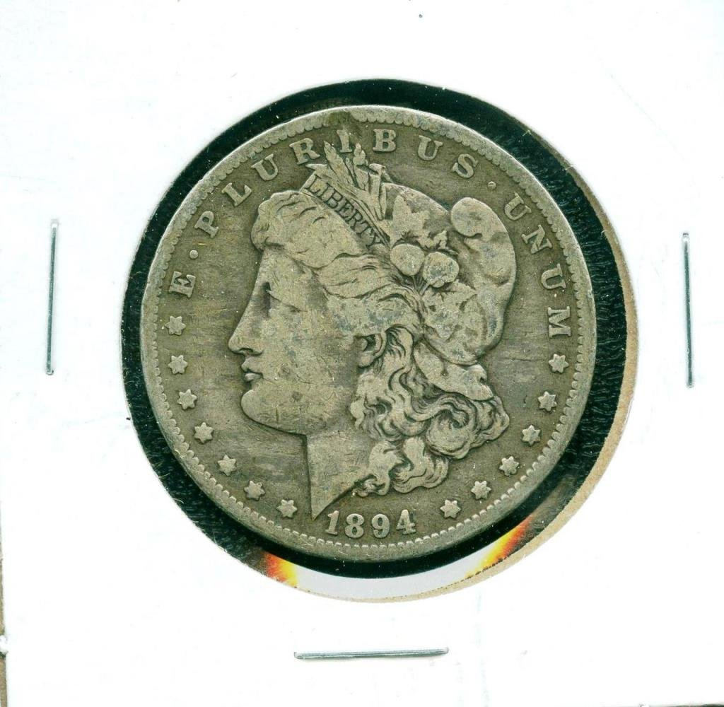 1894 o Key Date Morgan Dollar