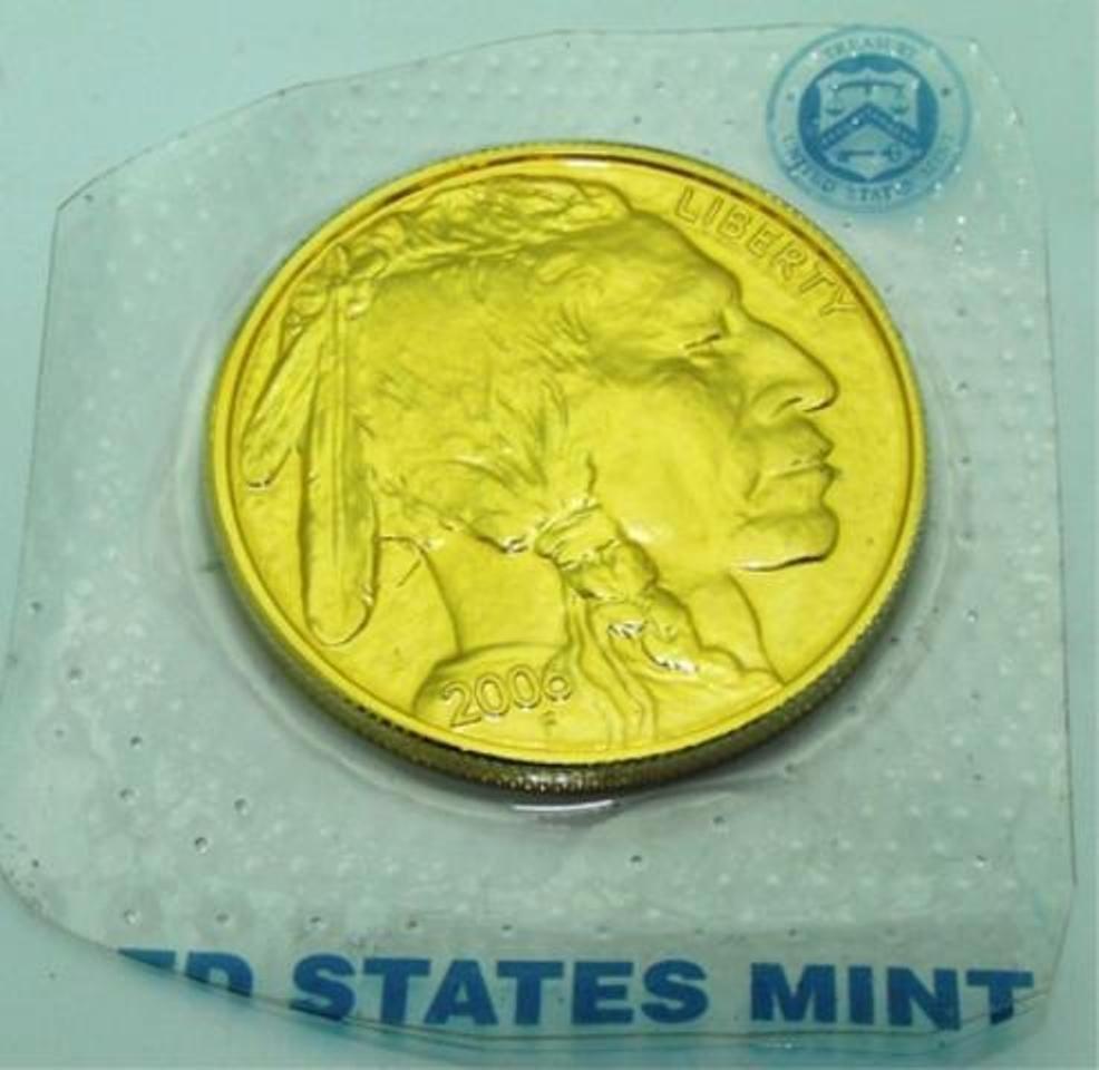 1 oz Gold Buffalo Bullion Coin - 24k