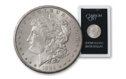 1884 Carson City GSA Morgan Siver Dollar