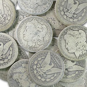 20 Morgan Silver Dollars from Massive Cache