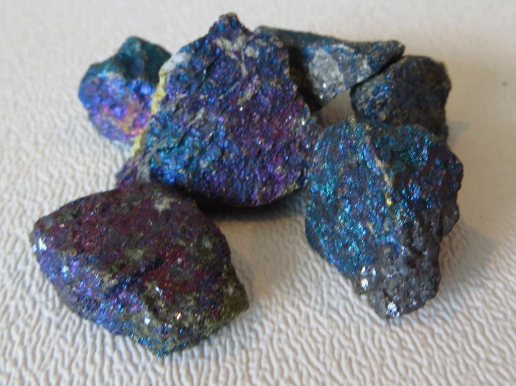 Natural History 100 cts PLUS ChalcePyrite Vibrant