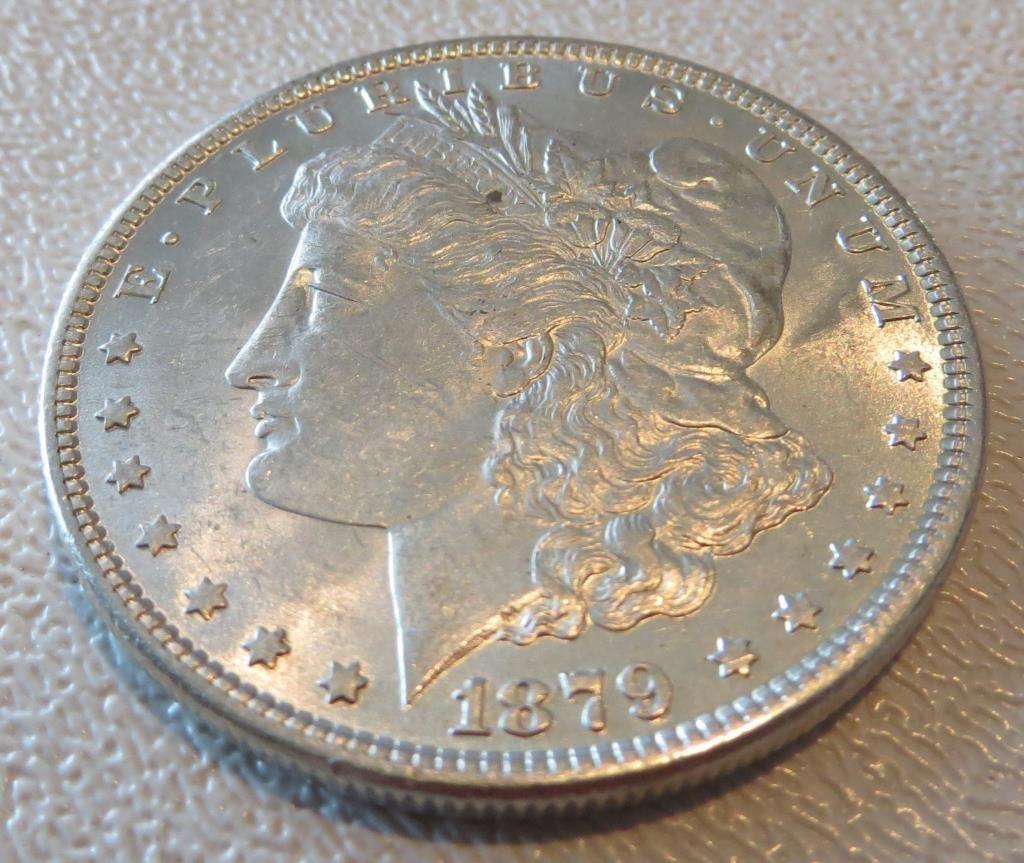 1879 P BU Morgan Dollar