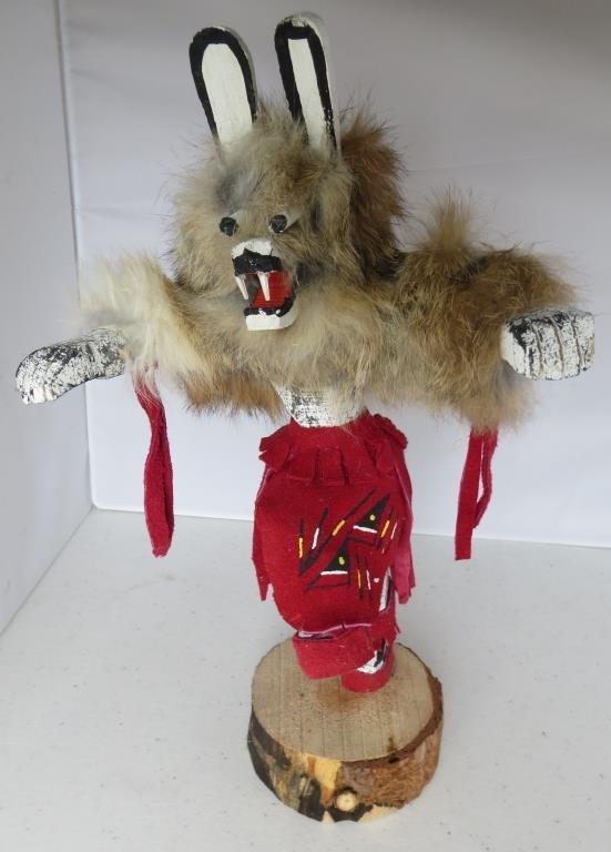 Trading Post Indian Kachina Doll