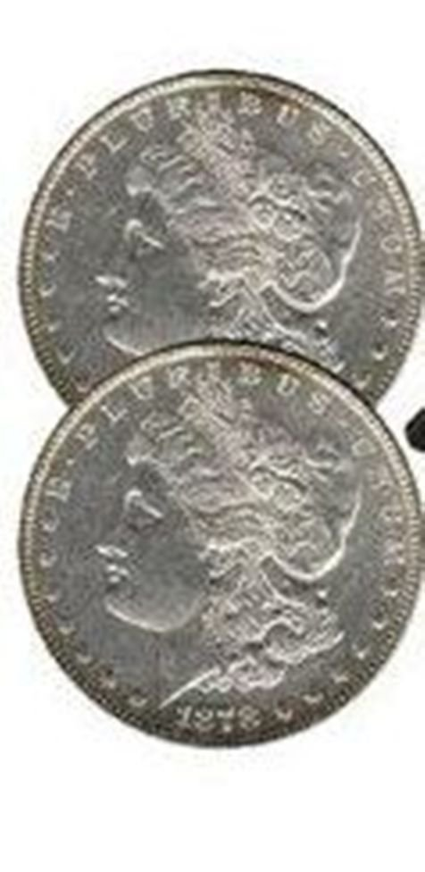 (2) Coin Collection- First and Last Morgan
