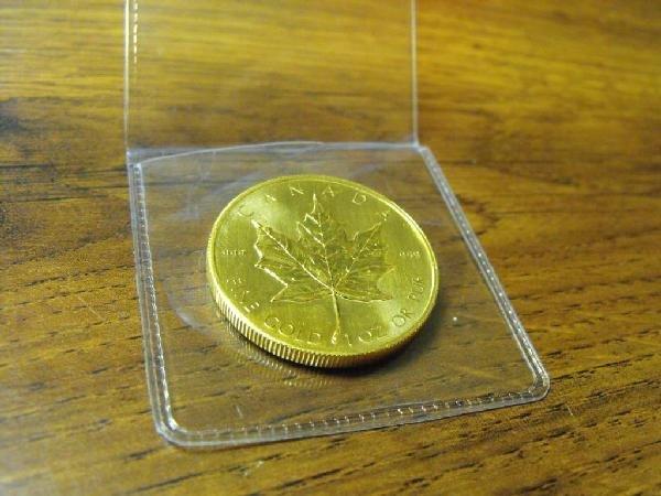 1 oz. Gold Maple Leaf Bullion Coin