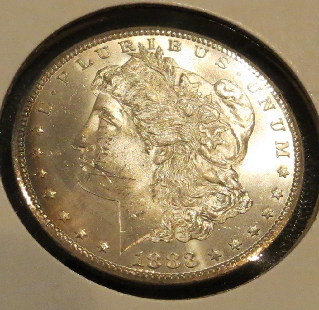 1883 Carson City BU Morgan Silver Dollar