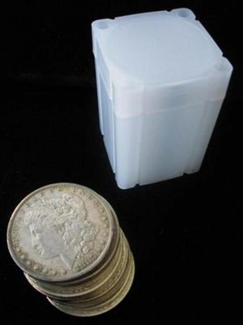 Lot of (20) Morgan Silver Dollars in Tube