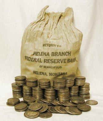 500 Morgan Silver Dollars