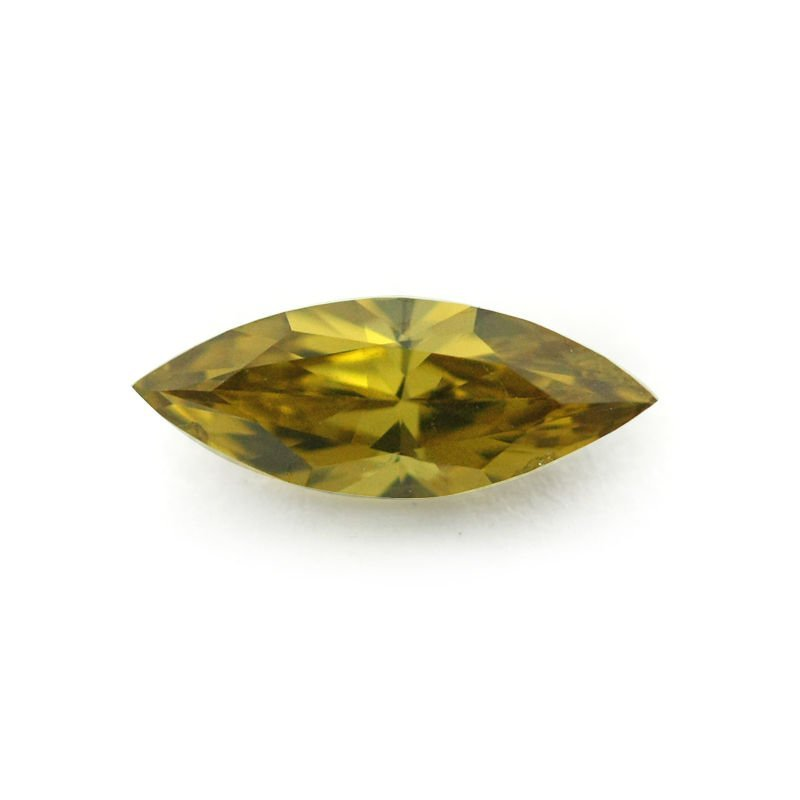GIA Certified Fancy Deep Yellow SI1 UNTREATED