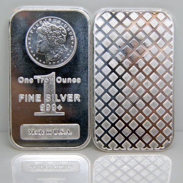 A 1oz Morgan Silver Bar