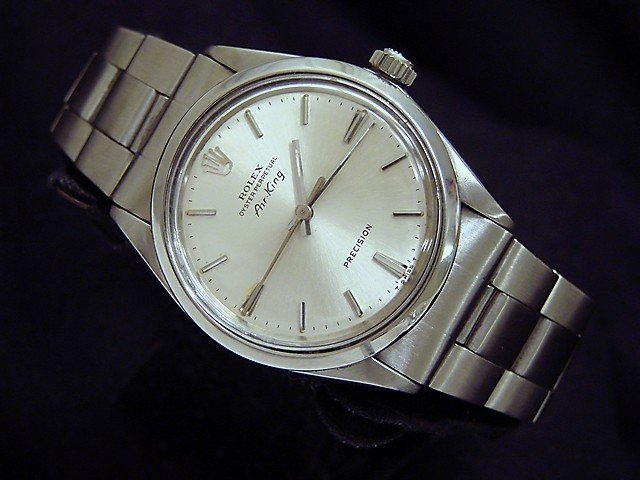 Man's Stainless Rolex Air King Watch
