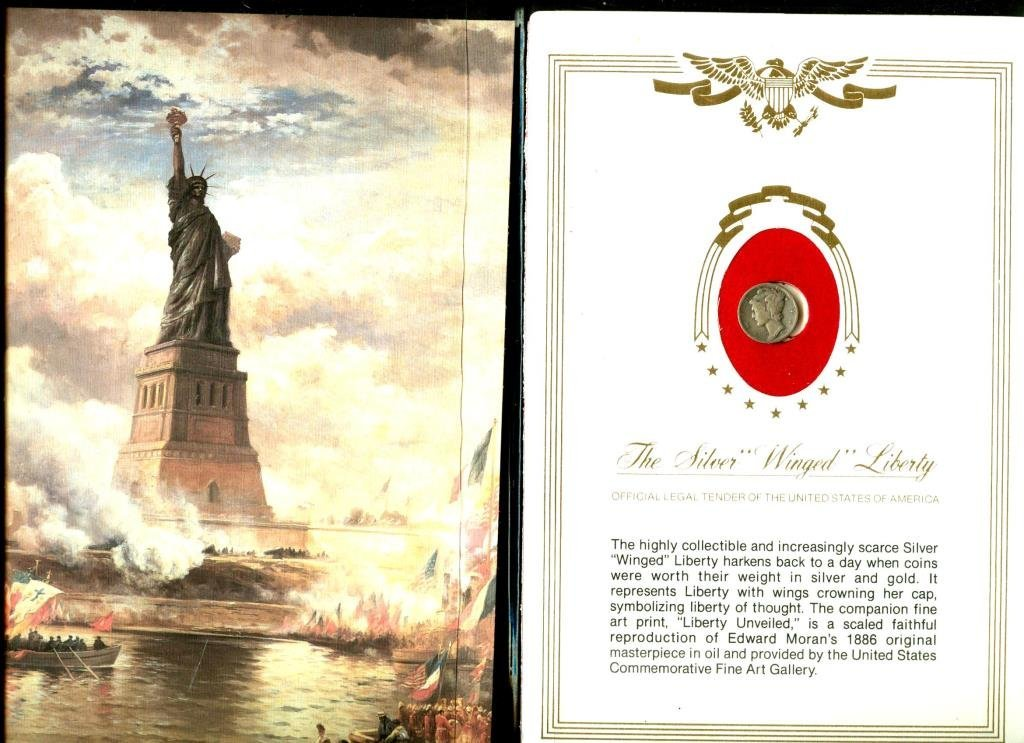 Winged Liberty Series Folio Mercury Dime