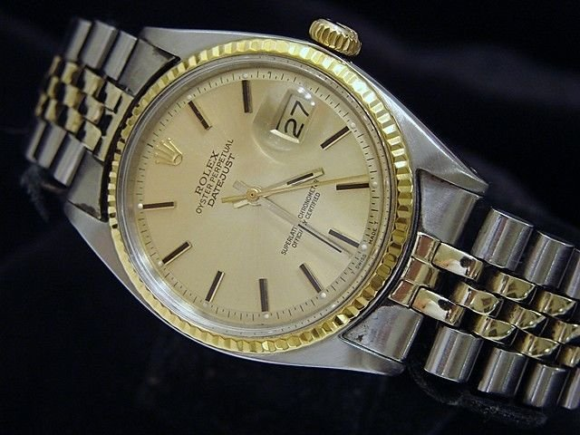 Man's 2 Tone ROLEX - Gold and Stainless Watch