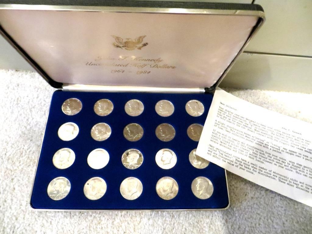 1964-1984 Kennedy Halves w/ Silver-Proof